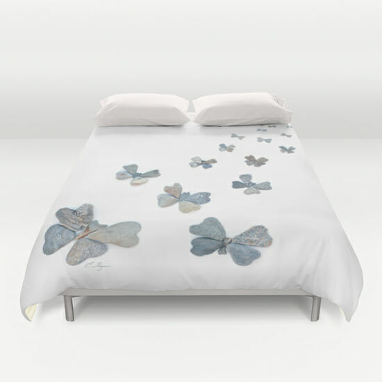 Butterfly migration duvet