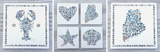 Love Rocks Coasters & Trivets!